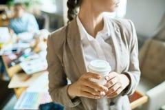 Минута для кофе стоковое изображение
