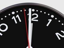 минута одно до 12 Стоковое Изображение RF