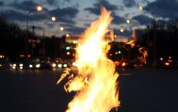 минуты вечера зоны визируют победу Стоковые Фотографии RF