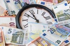 5 минут перед 12 o& x27; часы Стоковые Изображения RF