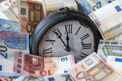 5 минут перед 12 o& x27; часы Стоковая Фотография