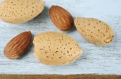 миндалины nuts Стоковые Изображения RF