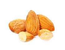 миндалины nuts Стоковая Фотография RF