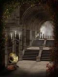 миражирует готские лестницы Стоковая Фотография RF