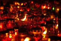 миражирует кладбище Стоковая Фотография