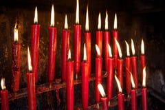 миражирует красный цвет Стоковое Изображение
