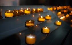 миражирует молитву церков Стоковое Изображение