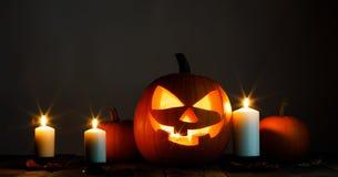 миражирует тыкву halloween Стоковая Фотография