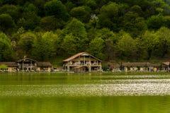 Мирная перспектива озера Стоковое Изображение RF