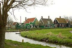 Мирная сельская местность Голландии Стоковое Фото