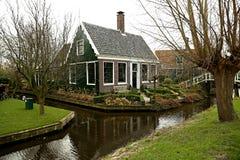Мирная сельская местность Голландии Стоковые Изображения