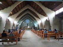 Мирная церковь в провинции стоковая фотография rf