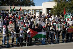 мирное война протеста Стоковая Фотография RF