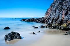Пляж в Калифорнии стоковая фотография