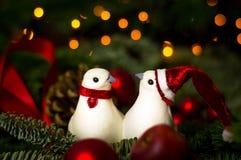Мирное рождество Стоковая Фотография