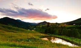 Мирный вечер Стоковое Изображение