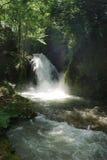 мирный водопад стоковые фото
