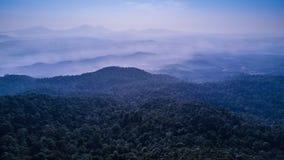 Мирный горный вид Стоковая Фотография