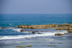 Мирный и расслабляющий seascape Стоковое Изображение