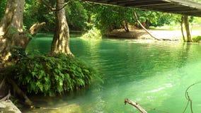 Мирный и тихий на Jed Sao Noi Водопад Стоковые Изображения