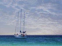 мирный корабль Стоковое Фото
