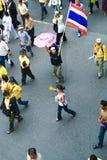 Мирный протест в Бангкок Стоковое Изображение