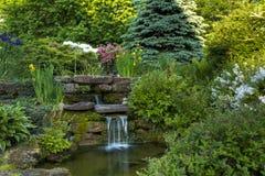 Мирный сад стоковые изображения rf