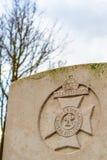 Мировая война Фландрия воинского кладбища 1-ая Стоковая Фотография RF