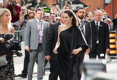 Мировая премьера Angelina Jolie ` сперва они убили мое ` отца на международном кинофестивале Торонто Стоковая Фотография