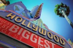 Мировые рекорды музей Гиннесса, Голливуд стоковые фото