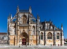 1386 1517 миров unesco места Португалии скита leiria наследия estremadura заречья строения batalha Стоковые Фото