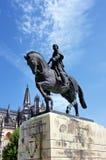 1386 1517 миров unesco места Португалии скита leiria наследия estremadura заречья строения batalha Статуя Nuno Alvares Pereira Стоковые Изображения