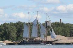 Миротворец - высокорослый корабль Стоковые Фото