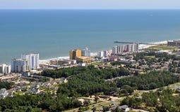 мирт пляжа южный Стоковое Изображение