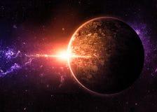 Миры чужеземца Стоковые Фотографии RF