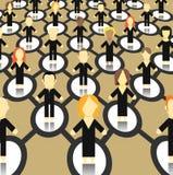мир абстрактной сети схемы широкий Стоковое фото RF