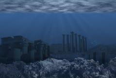 Атлантида Стоковая Фотография RF