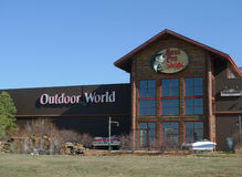 Мир басовых Pro магазинов внешний, Tulsa, Оклахома Стоковое Изображение RF