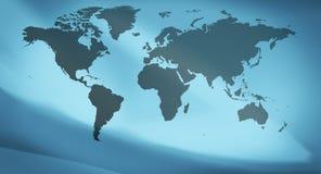 мир белизны вектора карты предпосылки изолированный иллюстрацией Стоковые Фото