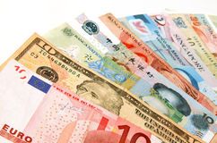 мир валют Стоковая Фотография