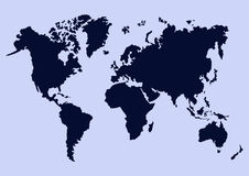 мир вектора карты конструкции вы Стоковое Изображение