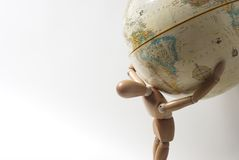 мир веса Стоковая Фотография