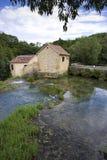 мир водопада skradinski buk известный Стоковая Фотография