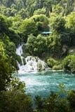 мир водопада skradinski buk известный Стоковое фото RF
