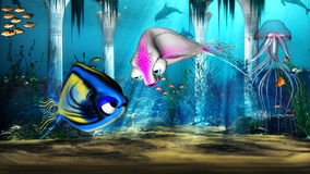 мир воды Бесплатная Иллюстрация
