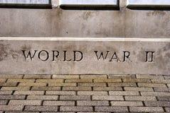 мир войны памятника ii Стоковая Фотография