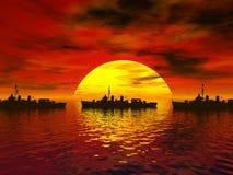 мир войны 2 морей южный Стоковое фото RF