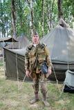 мир войны re enactor 2 Стоковая Фотография