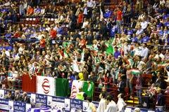 мир волейбола людей s fivb чемпионата Стоковая Фотография