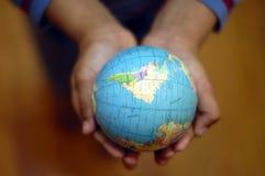 Мир в ваших руках Стоковое Фото